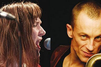 Elise Caron & Mederic Collignon à Les Lilas