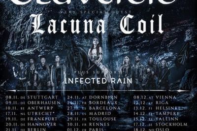 Eluveitie-Lacuna Coil-Infected Rain à Ramonville saint Agne