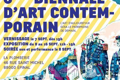 6ème Biennale d'Art Contemporain d'Epinal