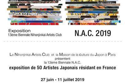 13ème Biennale N.A.C.2019 à Paris 15ème