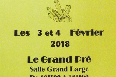 18ème Bourse exposition de minéraux ,  bijoux , gemmes et fossiles , trésors de la terre à Langueux