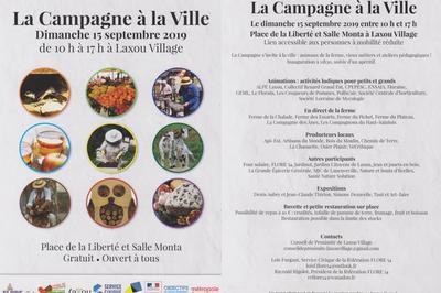 3ème édition de La Campagne à la Ville 2019