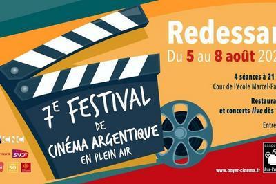 7ème Festival de cinéma argentique en plein air 2021