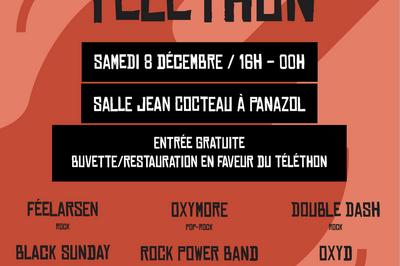 6ème Festival Rock pour le Téléthon 2018