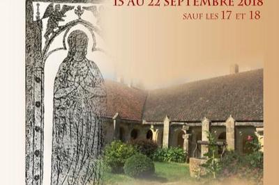 Empreintes Médiévales : Conférences Sur La Répartition Des Plates-tombes Et L'art Des Artisans Tombiers à Chatel Gerard
