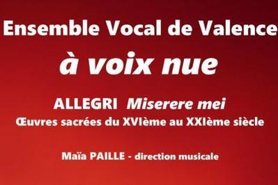 Ensemble Vocal  de Valence à voix nue