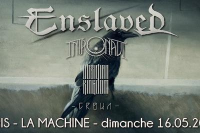 Enslaved + Intronaut à Paris 18ème