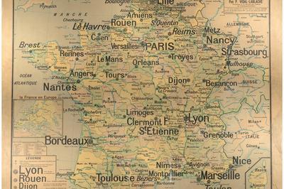 Entre Carte Vidal-lablache Et Encre Violette... Balade Littéraire Dans L'école D'avant Hier à Rouen