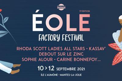 Eole Factory Festival 2021 - Pass 3j à Mantes la Jolie