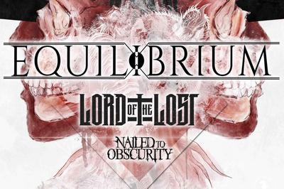 Equilibrium, Lord of the Lost et Nailed To Obscurity à Lyon