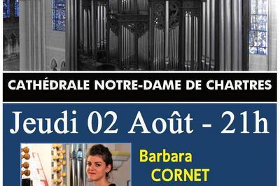 Récital Barbara CORNET - Soirées estivales 2018  à Chartres