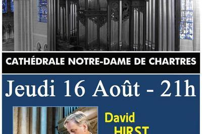 Récital David HIRST - Soirées estivales 2018  à Chartres