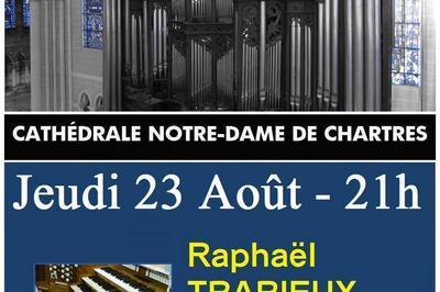 Récital Raphaël TRARIEUX - Soirées estivales 2018  à Chartres