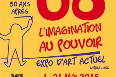 68 et l'imagination au pouvoir # expo d'Art actuel à Saint Pompont