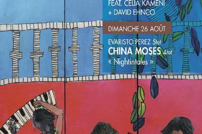Evaristo Perez 5tet-China Moses à Clermont