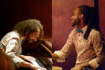 Ewerton Oliveira et Zaza Desiderio musique brésilienne et jazz à Grenoble