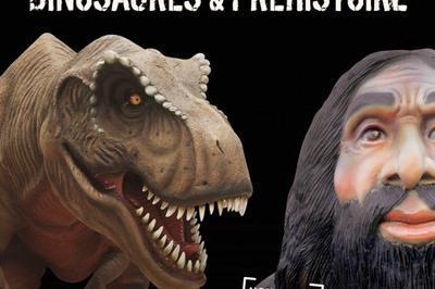Expo Dinosaures et Préhistoire à Carquefou
