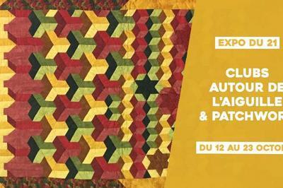 Expo du 21 // Clubs Autour de l'aiguille & Patchwork à Sceaux