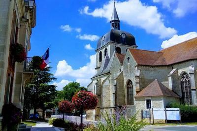 Exposition à L'église Saint-quentin à Dienville