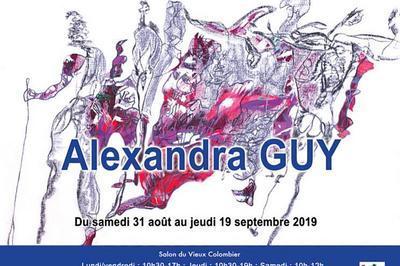 Exposition Alexandra Guy à Paris 6ème