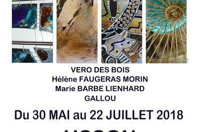 Exposition artistique Usson