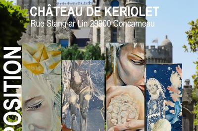 Exposition au Chateau de Keriolet à Concarneau