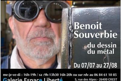 Benoit Souverbie / du dessin - du métal à Crest