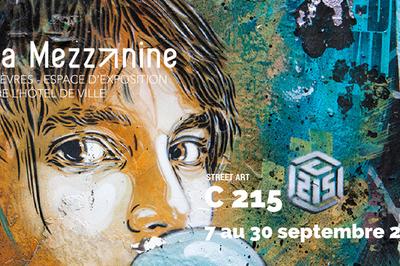 Exposition C 215 à la Mezzanine de Sèvres à Sevres