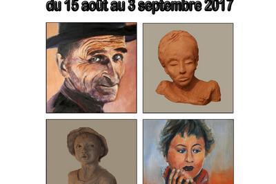 Exposition C.Esneault à Usson