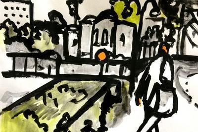 Exposition Cent Ruelles Pour Un Pinceau. à Sainte Foy les Lyon