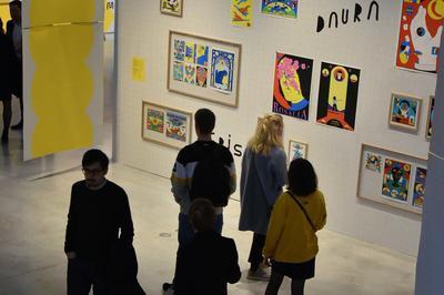 Exposition Chemin Papier, L'illustration Et Ses Marges à Chaumont