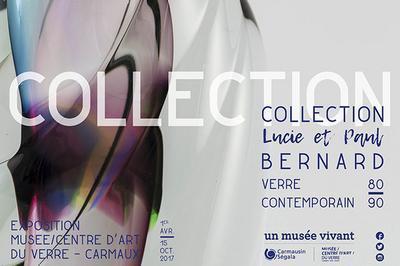 Collection Lucie et Paul Bernard, verre contemporain 80-90 à Carmaux