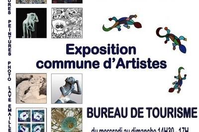 Exposition commune d'Artistes à Usson