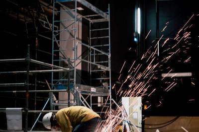 Exposition Coulisses De Chantier : Images De La Rénovation Du Théâtre Bernard-marie Koltès à Nanterre