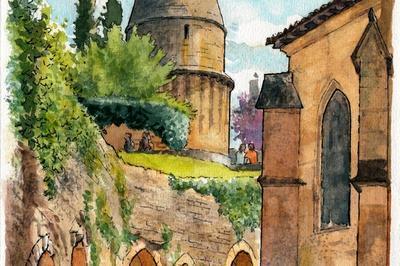 Exposition D'aquarelles Sur Sarlat à Sarlat la Caneda
