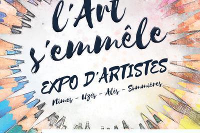 Exposition d'artistes au Prieuré Saint Pierre à Pont saint Esprit
