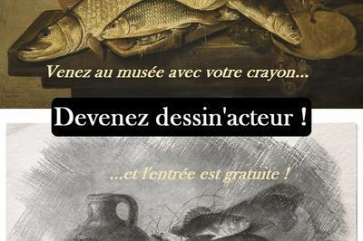 Exposition D'une Sélection De Dessins Du Concours Devenez Dessin'acteur à La Fere
