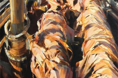 Fañch Moal - Exposition d'œuvres récentes à Meilars