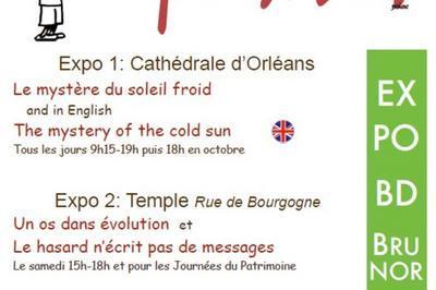 Exposition De Bandes Dessinées De Brunor à Orléans