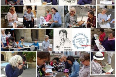 Exposition De Carnets De Voyage Et Livres D'artistes à Sommieres
