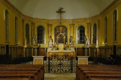 Exposition De Créations Calligraphiques Et D'enluminures Dans L'église St Cyr Et Ste Julitte à Aunou le Faucon