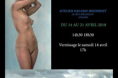 Exposition de gyslain bleriot à Angers