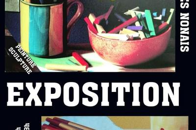 Exposition de Peinture -Ass Art à La Ville Es Nonais