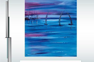Exposition de peinture - maritime à Treffiagat