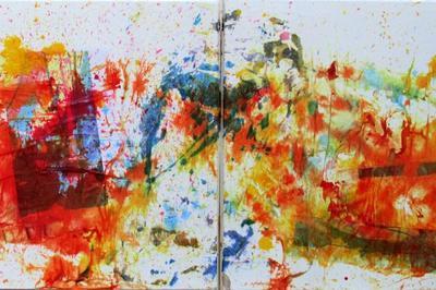 Exposition de peintures à Bagnols sur Cèze (Gard) à Thourotte