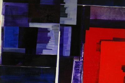 Exposition de peintures de Russell Boncey - Champs de couleur, paysages de joie à Cherbourg