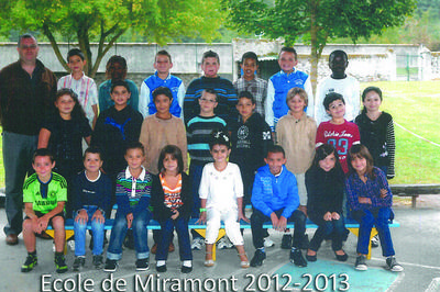 Exposition De Photos De Groupe Prises à L'école De Miramont-de-comminges à Miramont de Comminges