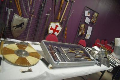 Exposition-démonstration D'un Ferronnier à Bogny sur Meuse