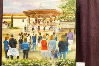 Exposition Des Artistes Canaulais à Lacanau