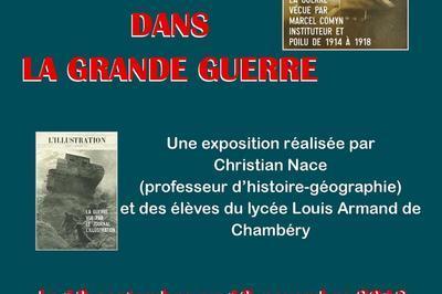 Exposition Des Guerres Dans La Grande Guerre. à Chambery